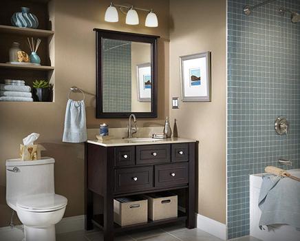 Services a s remodeling for Bathroom remodel evansville in